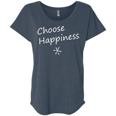 Choose Happiness Women's Travel T-Shirt