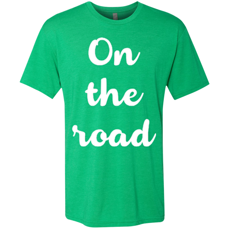On the Road Men's Travel T-Shirt - The Art Of Travel