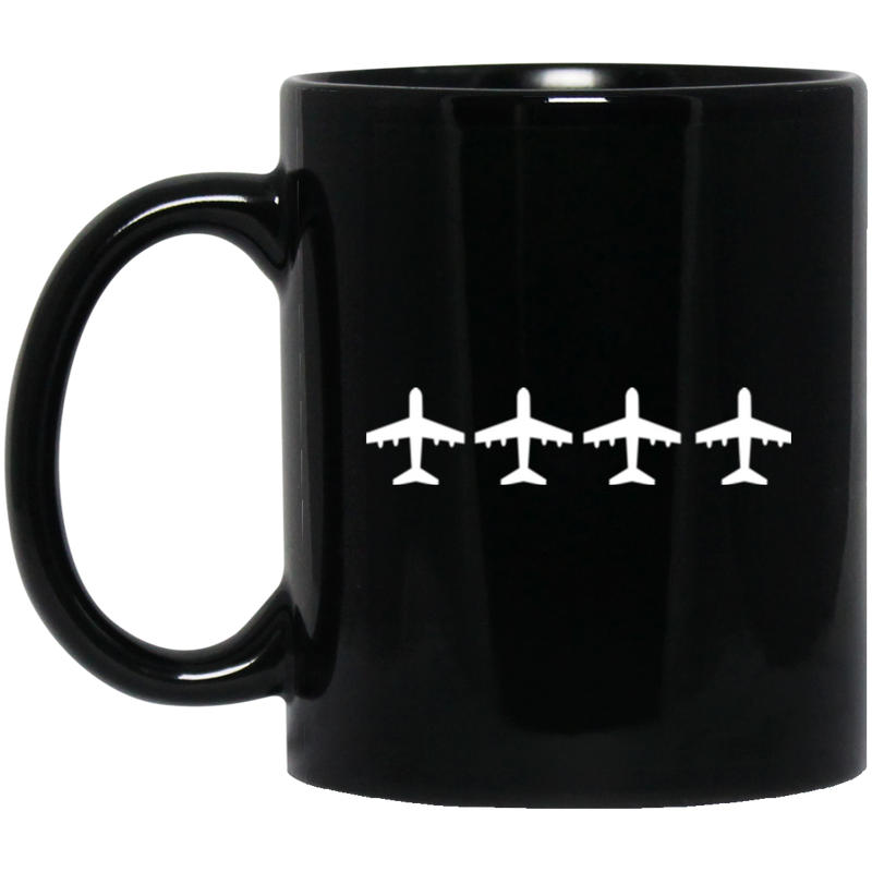 Black Mug 11 oz. - The Art Of Travel Store: Travel Accessories and Travel T-Shirts
