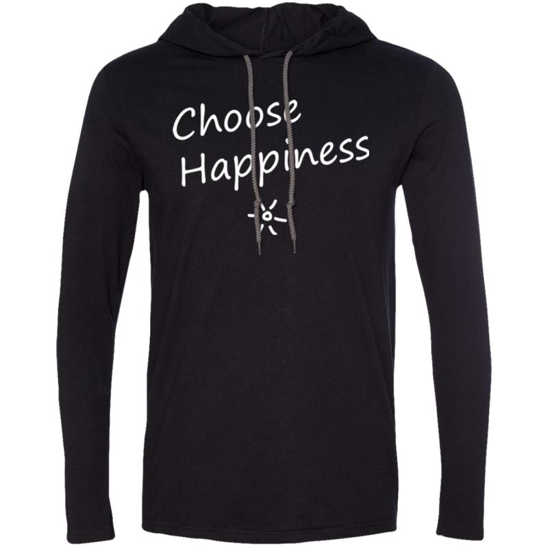 Choose Happiness Men's Travel T-Shirt Hoodie - The Art Of Travel Store: Travel Accessories and Travel T-Shirts