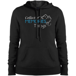 Collect Memories Not Things Hooded Sweatshirt - The Art Of Travel Store: Travel Accessories and Travel T-Shirts