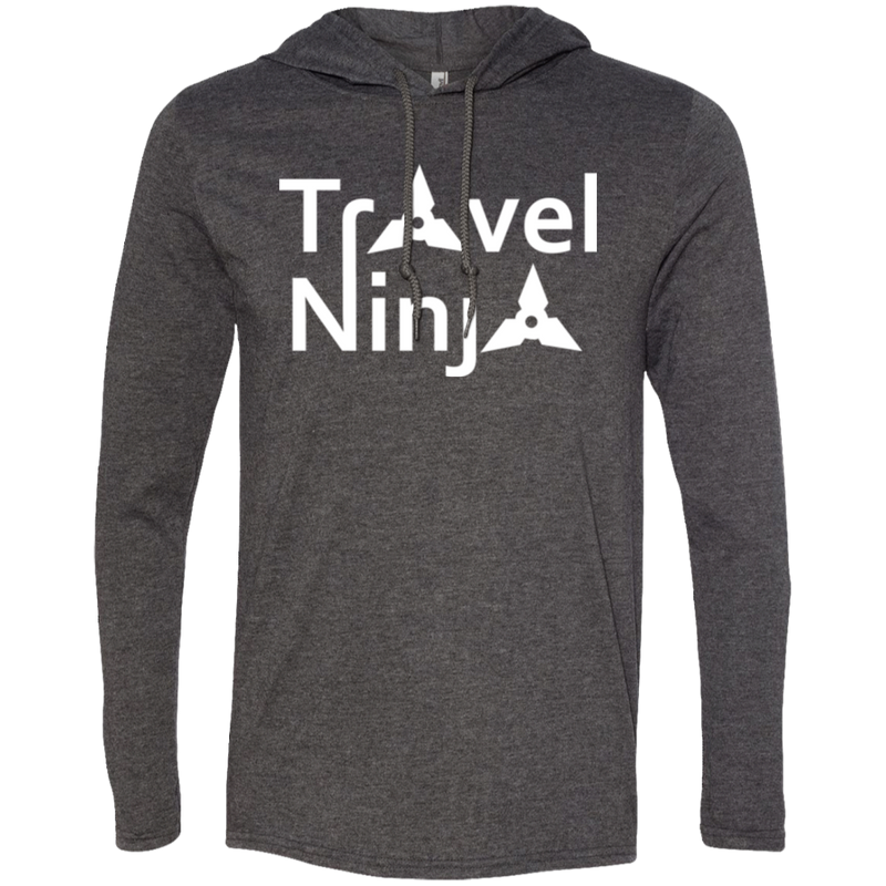 Travel Ninja Men's Adventure T-Shirt Hoodie - The Art Of Travel Store: Travel Accessories and Travel T-Shirts