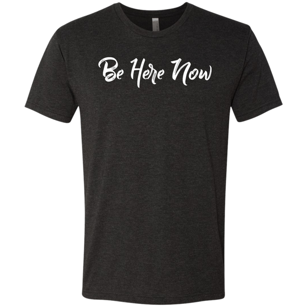 Be Here Now Men's Travel T-Shirt - The Art Of Travel