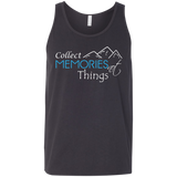 Collect Memories Not Things Men's Travel Tank - The Art Of Travel Store: Travel Accessories, Travel Clothes, Travel Gear