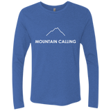 Mountain Calling Men's Long Sleeve Travel Hiking T-Shirt - The Art Of Travel Store: Travel Accessories, Travel Clothes, Travel Gear