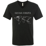 World Citizen Men's Travel V-Neck Tee - The Art Of Travel Store: Travel Accessories, Travel Clothes, Travel Gear