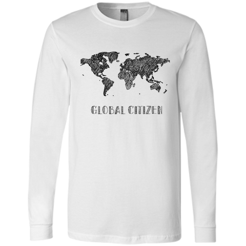 Global Citizen Men's Long Sleeve Travel T-Shirt - The Art Of Travel Store: Travel Accessories, Travel Clothes, Travel Gear