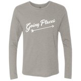 Going Places Men's Long Sleeve Travel T-Shirt - The Art Of Travel Store: Travel Accessories, Travel Clothes, Travel Gear
