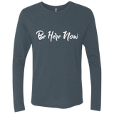 Be Here Now Present In Moment Men's Long Sleeve T-Shirt - The Art Of Travel Store: Travel Accessories, Travel Clothes, Travel Gear