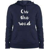 On the Road Ladies Pullover Hooded Sweatshirt - The Art Of Travel Store: Travel Accessories, Travel Clothes, Travel Gear