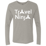 Travel Ninja Men's Long Sleeve T-Shirt - The Art Of Travel Store: Travel Accessories, Travel Clothes, Travel Gear