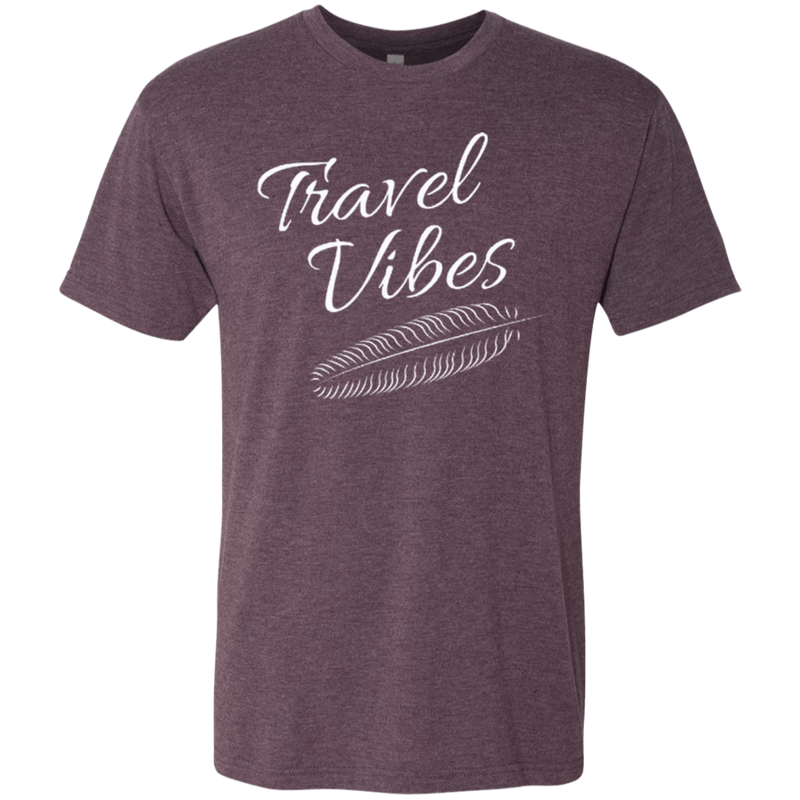 Travel Vibes Men's Wanderlust T-Shirt - The Art Of Travel Store: Travel Accessories and Travel T-Shirts