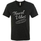 Travel Vibes Men's V-Neck T-Shirt - The Art Of Travel Store: Travel Accessories, Travel Clothes, Travel Gear