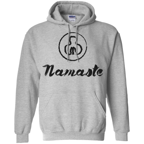 Namaste Men's Pullover Hoodie - The Art Of Travel Store: Travel Accessories and Travel T-Shirts
