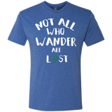 Not All Who Wander Are Lost Men's Travel Tee - The Art Of Travel Store: Travel Accessories, Travel Clothes, Travel Gear