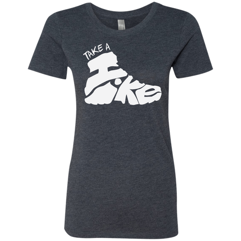 Take a Hike Women's Travel T-Shirt - The Art Of Travel Store: Travel Accessories, Travel Clothes, Travel Gear