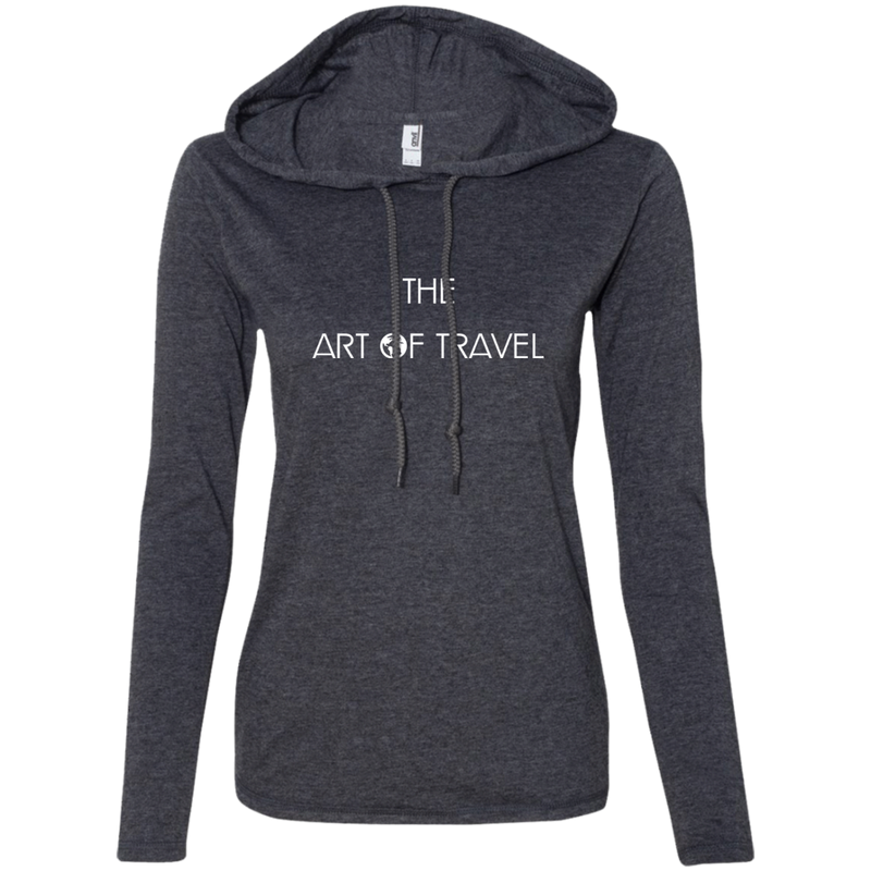 The Art of Travel Ladies' T-Shirt Hoodie - The Art Of Travel Store: Travel Accessories and Travel T-Shirts