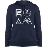 ROAM Ladies Pullover Hooded Sweatshirt - The Art Of Travel Store: Travel Accessories, Travel Clothes, Travel Gear