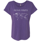 Global Citizen Ladies World Travel T-Shirt - The Art Of Travel Store: Travel Accessories, Travel Clothes, Travel Gear