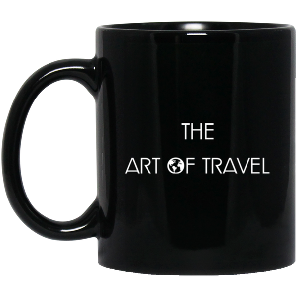 Black Mug 11 oz. - The Art Of Travel Store: Travel Accessories, Travel Clothes, Travel T-Shirts