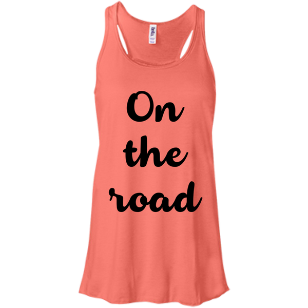 On the Road Women's Flowy Travel Tank - The Art Of Travel Store: Travel Accessories and Travel T-Shirts