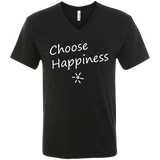 Choose Happiness Men's Travel V-Neck T-Shirt - The Art Of Travel Store: Travel Accessories, Travel Clothes, Travel Gear