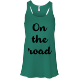 On the Road Women's Flowy Travel Tank - The Art Of Travel Store: Travel Accessories, Travel Clothes, Travel Gear