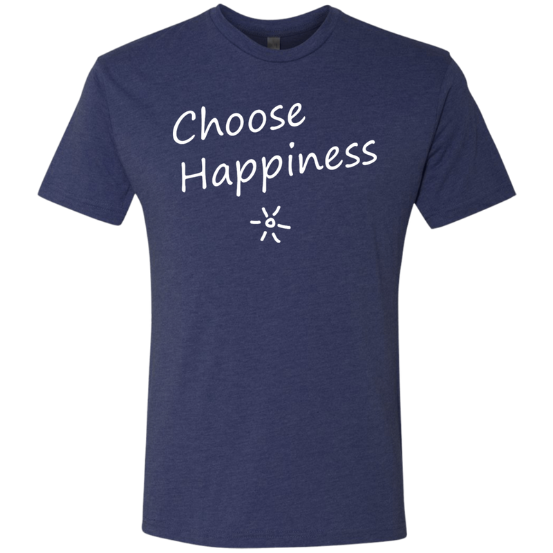 Choose Happiness Men's Travel T-Shirt - The Art Of Travel Store: Travel Accessories and Travel T-Shirts
