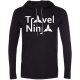 Travel Ninja Men's Adventure T-Shirt Hoodie - The Art Of Travel Store: Travel Accessories, Travel Clothes, Travel Gear