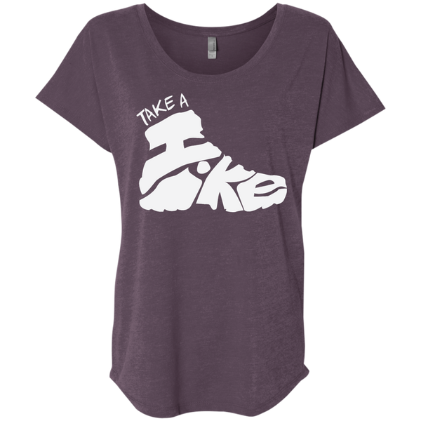 Take a Hike Women's Travel T-Shirt - The Art Of Travel