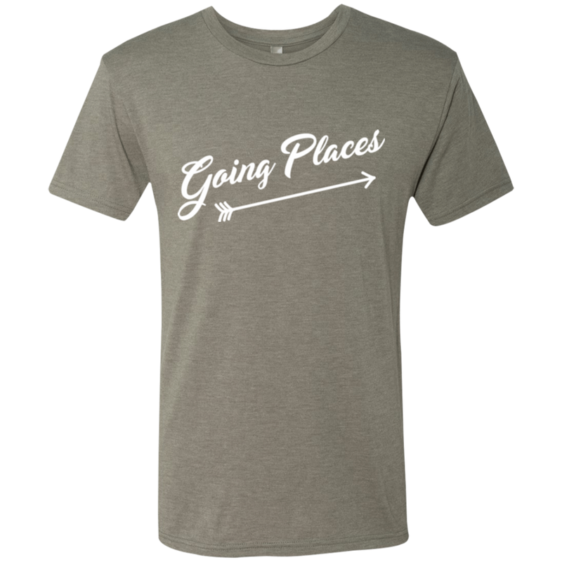 Going Places Men's Travel Adventure T-Shirt - The Art Of Travel Store: Travel Accessories and Travel T-Shirts