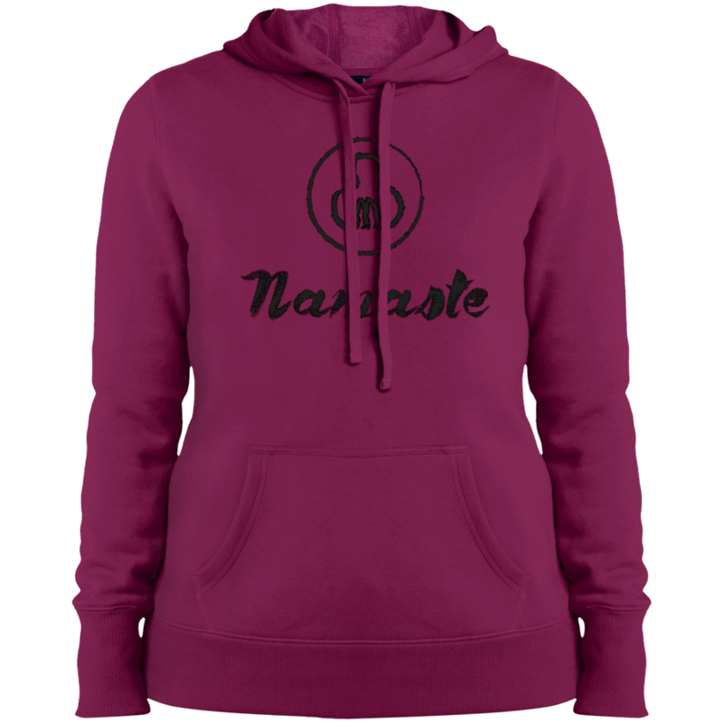 Namaste Ladies Pullover Hooded Sweatshirt - The Art Of Travel Store: Travel Accessories and Travel T-Shirts
