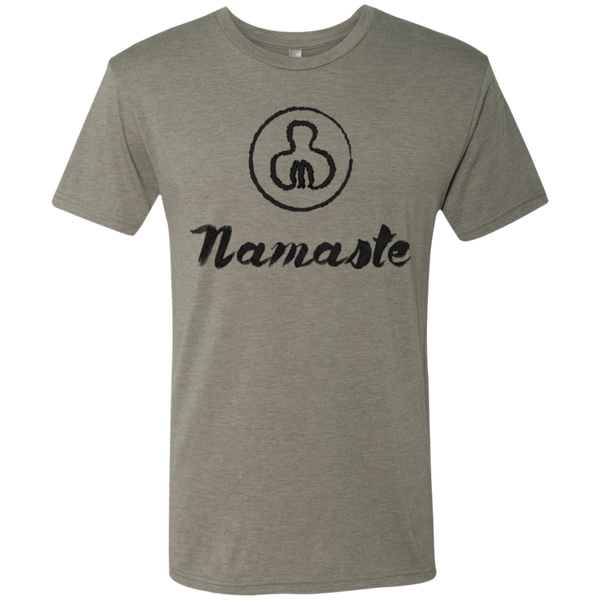Namaste Men's Adventure Travel T-Shirt - The Art Of Travel Store: Travel Accessories and Travel T-Shirts