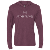 The Art Of World Travel Hooded T-Shirt Hoodie - The Art Of Travel Store: Travel Accessories, Travel Clothes, Travel Gear