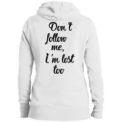 Don't Follow Me Women's Pullover Hoodie - The Art Of Travel Store: Travel Accessories and Travel T-Shirts
