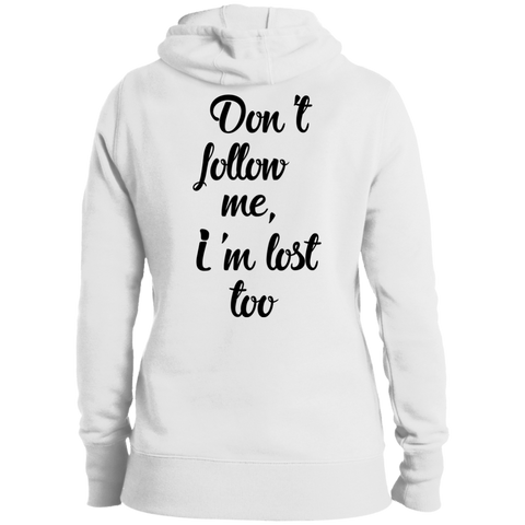 Don't Follow Me Women's Pullover Hoodie - The Art Of Travel Store: Travel Accessories, Travel Clothes, Travel Gear