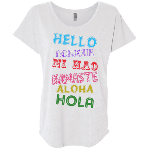 Hello Aloha Women's Travel T-Shirt