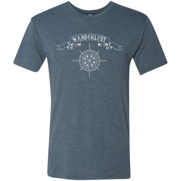 Wanderlust Men's Travel T-Shirt - The Art Of Travel Store: Travel Accessories, Travel Clothes, Travel Gear