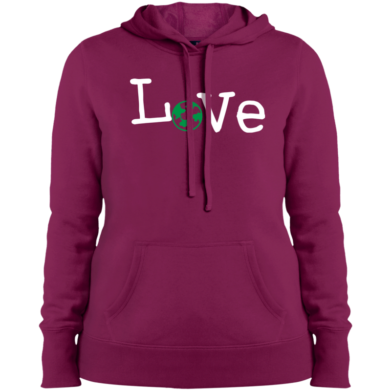 World Love Women Pullover Hooded Sweatshirt - The Art Of Travel Store: Travel Accessories and Travel T-Shirts