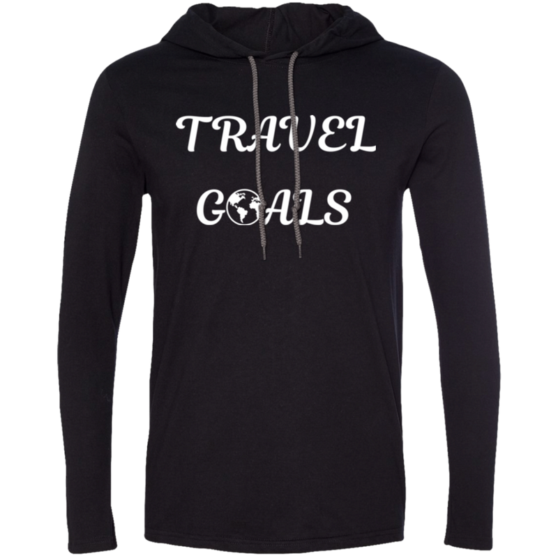 Travel Goals Men's T-Shirt Hoodie - The Art Of Travel Store: Travel Accessories and Travel T-Shirts