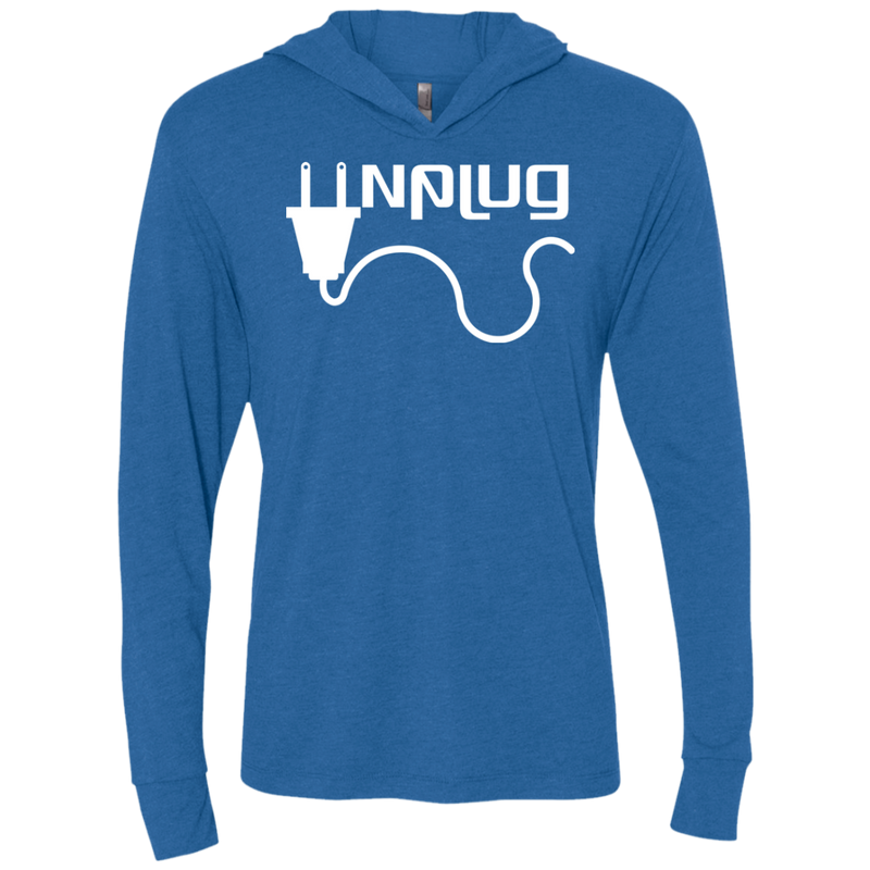 Unplug Off the Grid Hooded T-Shirt Hoodie - The Art Of Travel Store: Travel Accessories and Travel T-Shirts