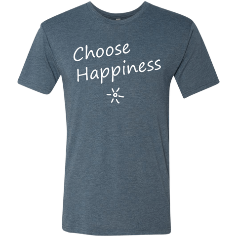 Choose Happiness Men's Travel T-Shirt