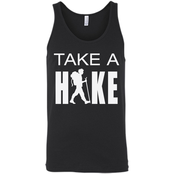Take A Hike Men's Cotton Summer Travel Tank - The Art Of Travel Store: Travel Accessories and Travel T-Shirts