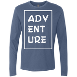 Adventure Travel Men's Long Sleeve T-Shirt - The Art Of Travel Store: Travel Accessories, Travel Clothes, Travel Gear