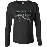 Global Citizen Women's Long Sleeve Cotton T-Shirt - The Art Of Travel Store: Travel Accessories, Travel Clothes, Travel Gear
