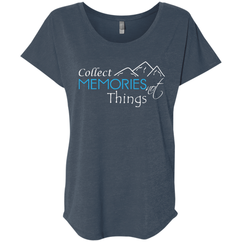 Collect Memories Not Things Travel T-Shirt - The Art Of Travel Store: Travel Accessories, Travel Clothes, Travel Gear
