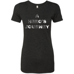 A Hero's Journey Ladies Travel T-Shirt - The Art Of Travel Store: Travel Accessories and Travel T-Shirts