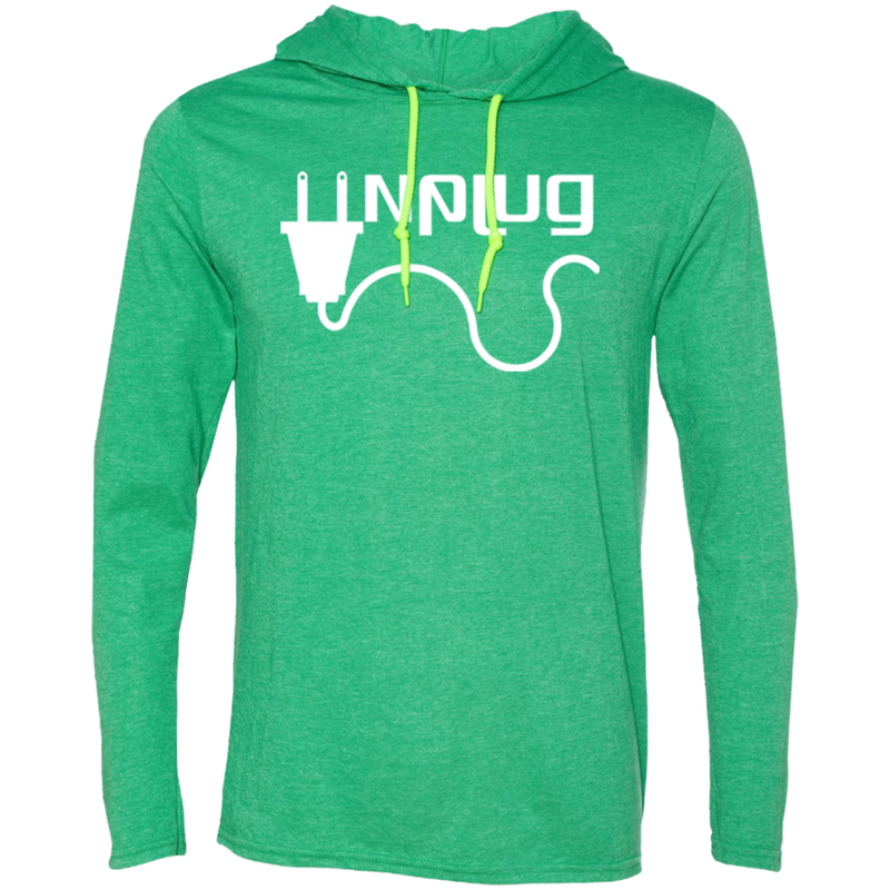 Unplug Off the Grid Men's Travel T-Shirt Hoodie - The Art Of Travel Store: Travel Accessories, Travel Clothes, Travel Gear