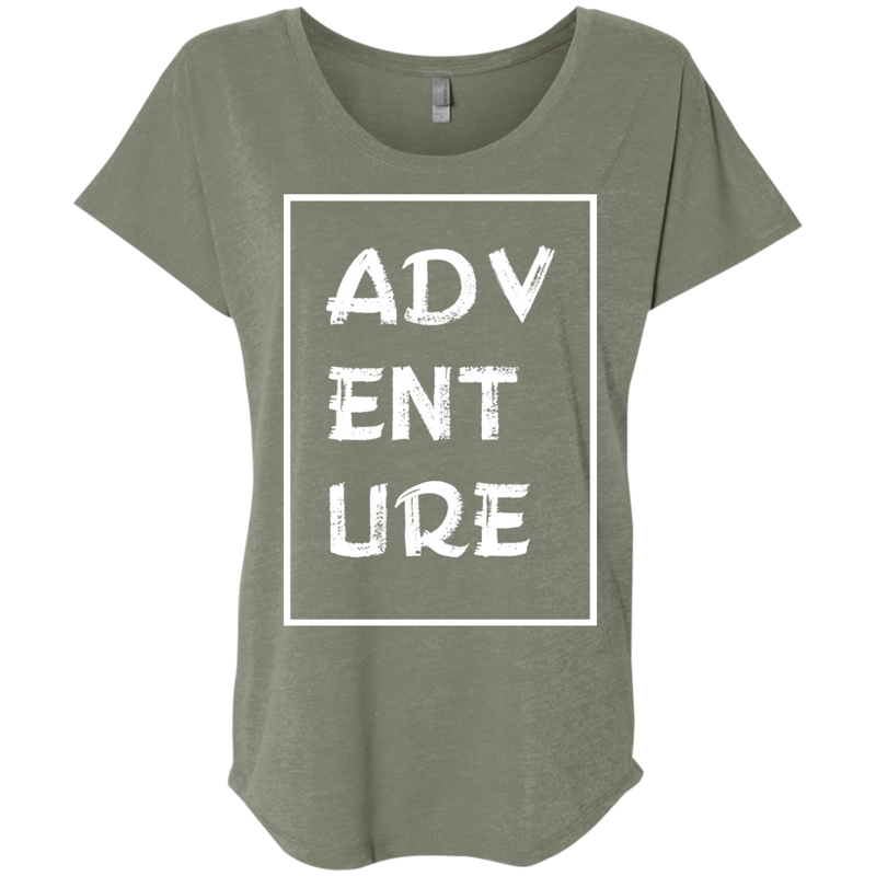 Adventure Now Women's Travel T-Shirt - The Art Of Travel Store: Travel Accessories and Travel T-Shirts
