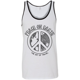 Peace on Earth Men's Cotton Summer Travel Tank - The Art Of Travel Store: Travel Accessories, Travel Clothes, Travel Gear